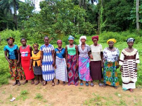 photo of Adama's Female Farmers Group