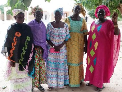 photo of Marie Philomène's Group