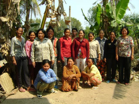 photo of Mrs. Mom Chan Village Bank Group