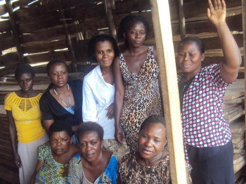 photo of Kasindi Bus Women Group