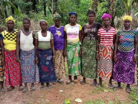 photo of Yeabu's Female Farmers Group