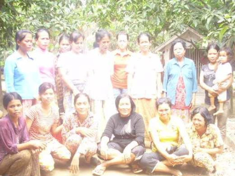 photo of Mrs. Sopheap Rours Village Bank Group