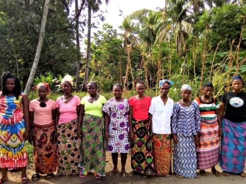 photo of Kadiatu's Female Farmers Group