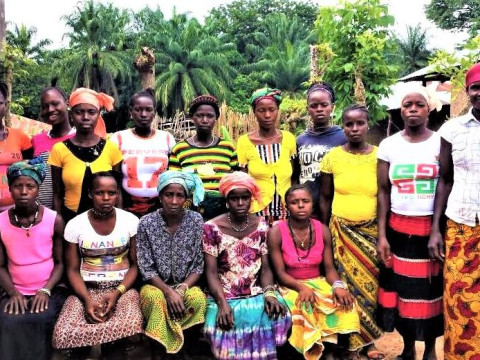 photo of Poreh's Ebola Recovery Group