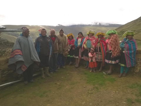 photo of Unu Urpu De Chaupimayo-Huarqqui Group