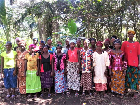 """photo of """"stand Tall"""" Female Farmers Group"""