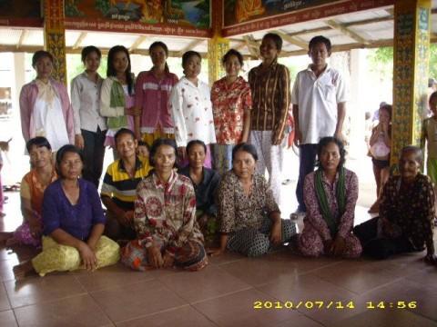 photo of Mrs. Sokha Meas Village Bank Group