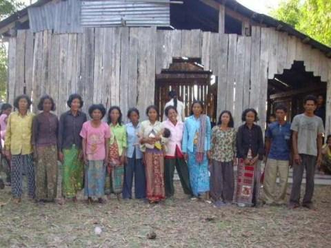 photo of Mr. Tang Pao Village Bank Group