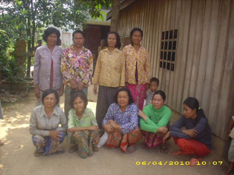 photo of Mrs. Sophea Khim Village Bank Group