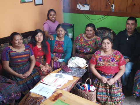 photo of Ixoqui Ajsamajela Group