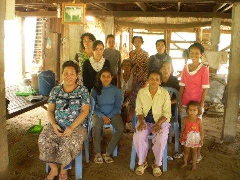 photo of Mrs. Srey Mom Sorn Village Bank Group