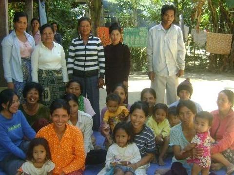 photo of Mrs. Sophann Phon Village Bank Group