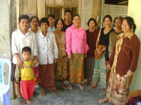photo of Um Sokhay's Group