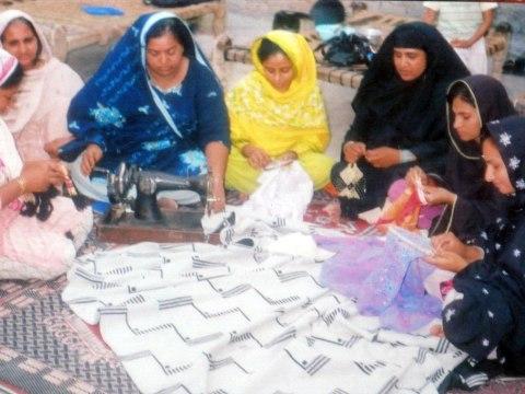 photo of Khalida Muhammad Afzal Group