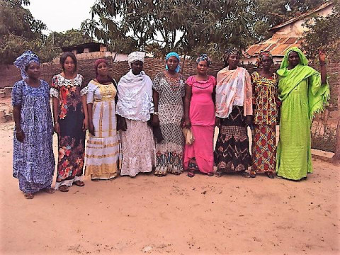 photo of Fatoumata's Group