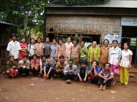 photo of Mr. Choeun Kev Village Bank Group