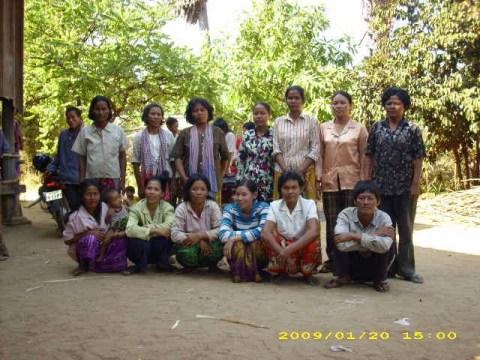 photo of Mrs. Sreang Lang Village Bank Group