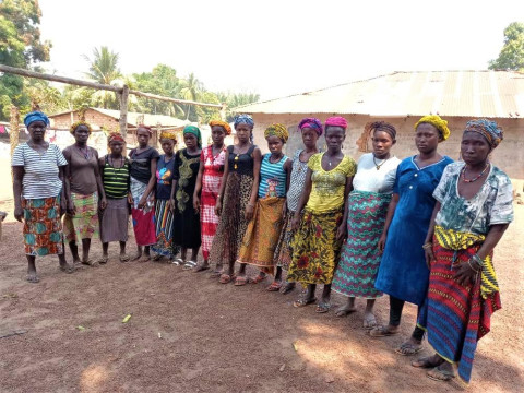 photo of Aminata's Female Farmers Group