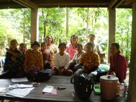 photo of Mrs. Nara Yin Village Bank Group