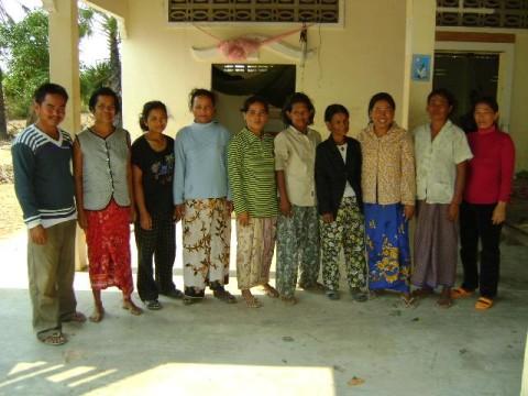 photo of Mrs. Sao Mang Village Bank Group