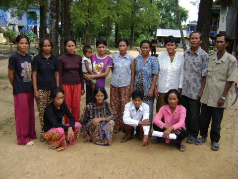 photo of Mrs. Phann Chok Village Bank Group
