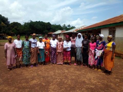 photo of Fatmata's Female Farmers Group