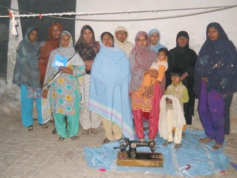 photo of Bashiran Bibi's Group