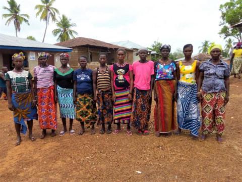 photo of Mammy Fatu's Farmers Group