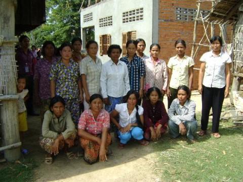 photo of Mrs. Thoeun Chhin Village Bank Group