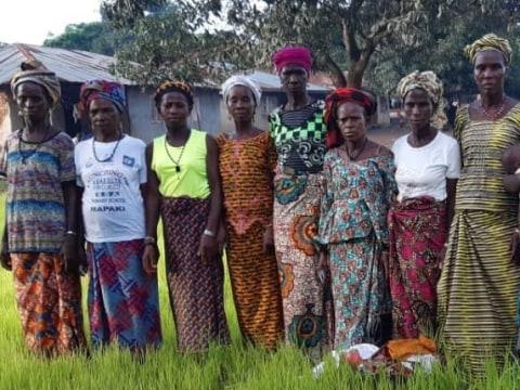photo of Isatu's Best Female Famers Group