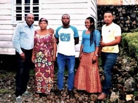 photo of Ignace Boshwenda Group