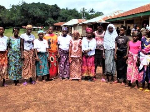 photo of Aminiata's Best Female Farmers Group