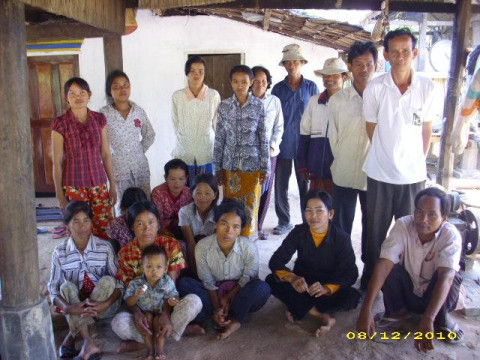 photo of Mrs. Chin Kano Village Bank Group