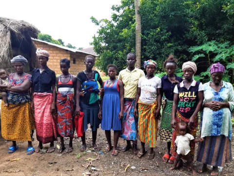 photo of Fatmata's Female Farmers Group