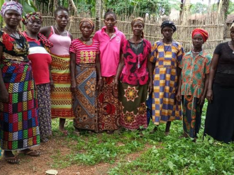 photo of Marie's Female Farmers Group