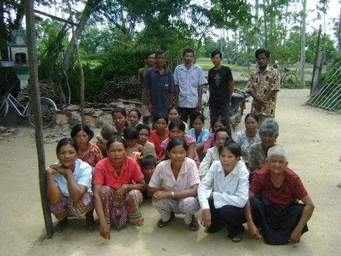 photo of Mrs. Din Chin Village Bank Group