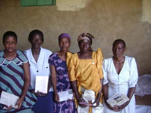 photo of Jane Namugalu's Group