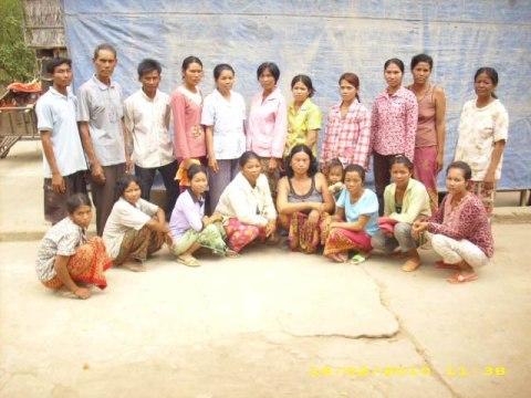 photo of Mr. Ban Meach Village Bank Group