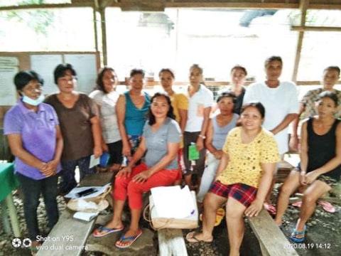 photo of Ctr 21 Cansalongan Women's Association Group
