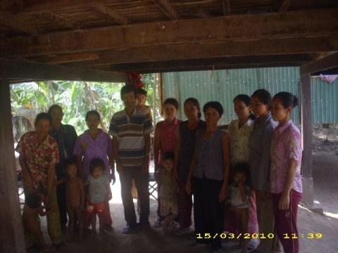 photo of Mrs. Sarin Yan Village Bank Group